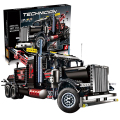 Lepin 20020 Technic Tow Truck Ultimate Series The Mechanical American Style Heavy Container Building Blcoks Bricks Toys 8258