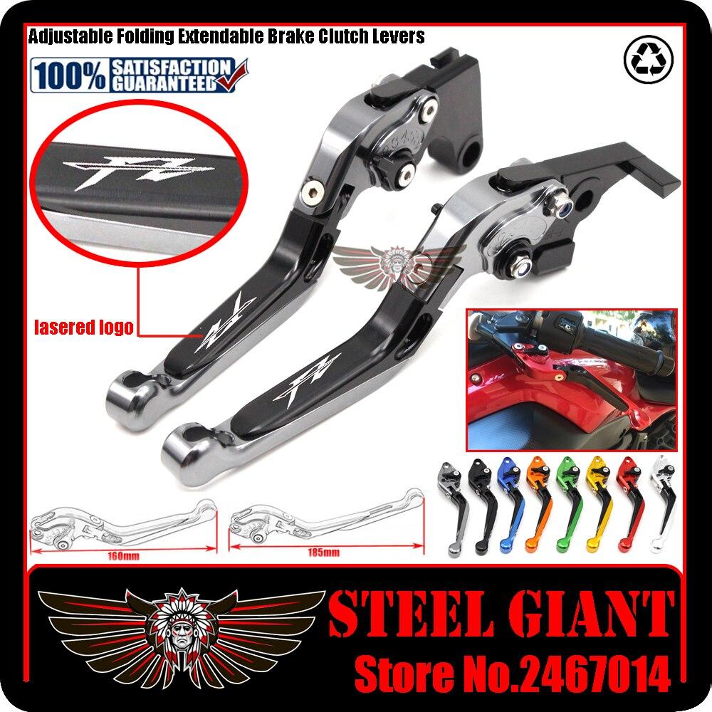 fits For YAMAHA FZ1/FZ6 Fazer FZ6R Diversion Motorcycle Adjustable Folding Extendable Brake Clutch Lever
