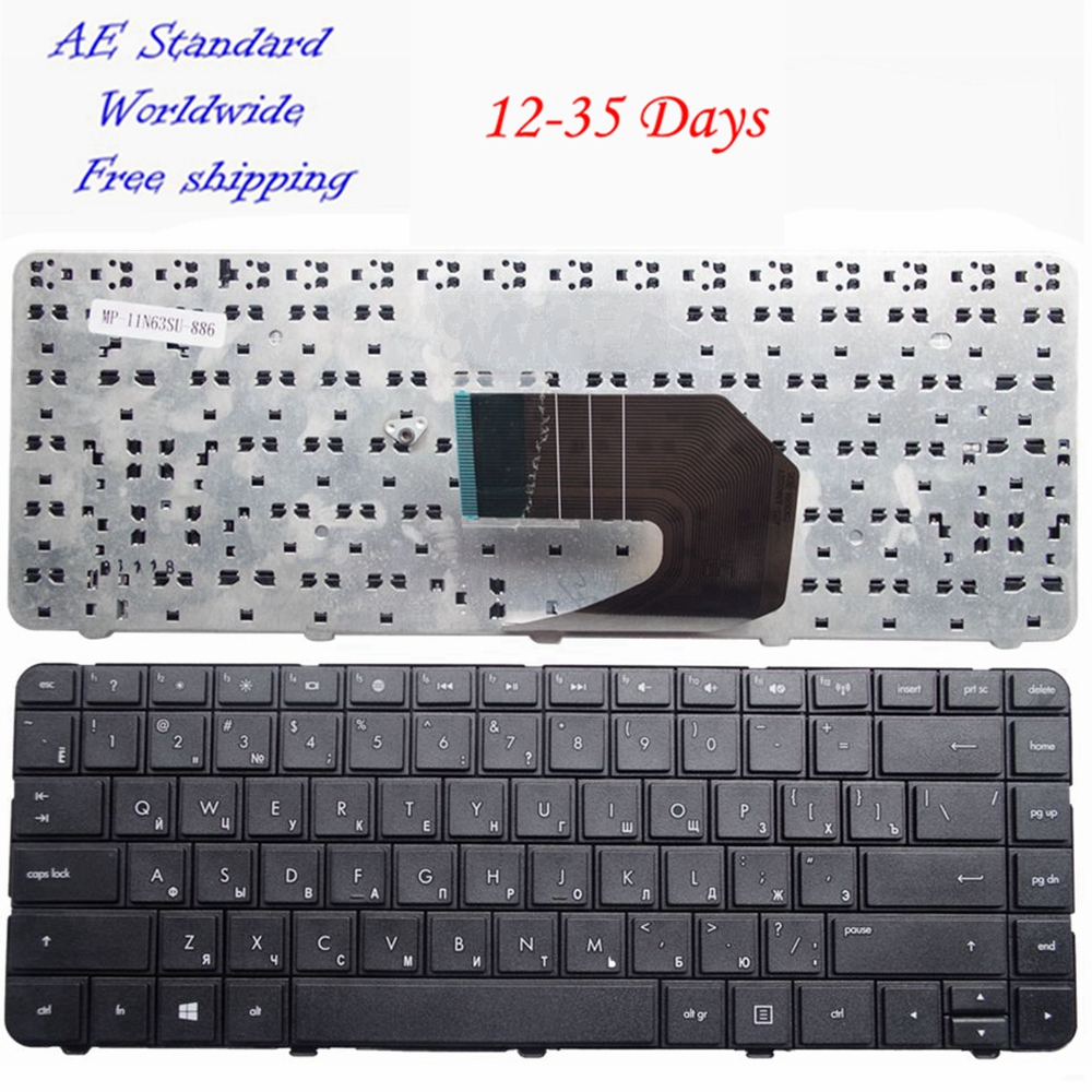 цена на Russian Laptop keyboard FOR HP R15 CQ45 CQ58 431 435 436 450 455 650 655 630 631 1000 2000 CQ430 CQ431 CQ635 RU New B