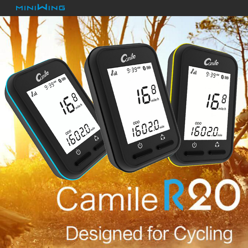 camile R20 GPS Computer Wireless Speedometer gps bike computer GPS Bike bicycle computer speedometer bogeer yt 833b bike computer