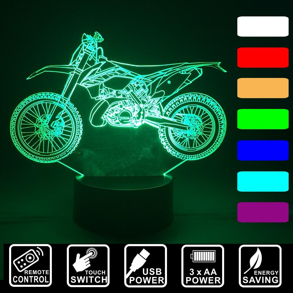 Luzes da Noite ou interruptor de toque 3d Modelo Número : Iy803726-14