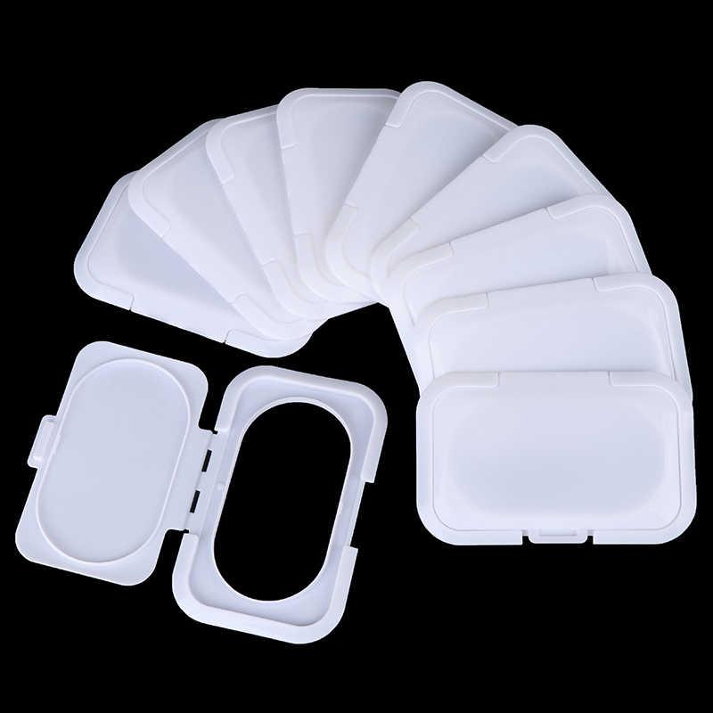 Chusteczki wielokrotnego użytku chusteczki wilgotne chusteczki dla niemowląt przenośne chusteczki nawilżane dla dzieci pudełko pokrywki chusteczki mobilne mokra papierowa pokrywka przydatne pudełko na chusteczki Acce