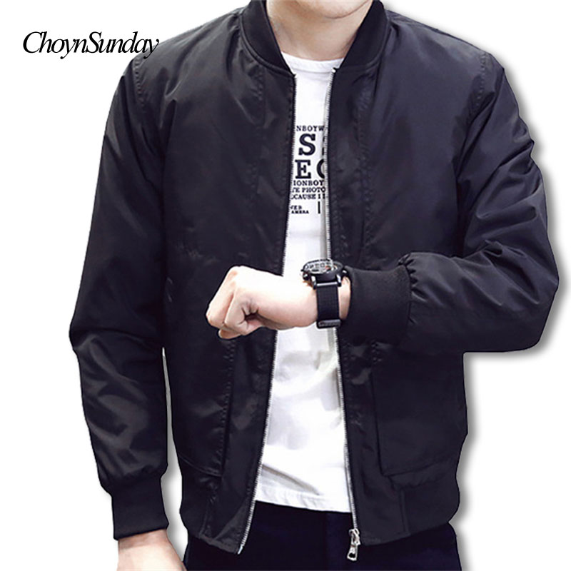 Clever Men Autumn Baseball Jackets Outwear Casual Coats Bomber Jackets New Male V-neck Slim Jackets Size 3xl Jackets