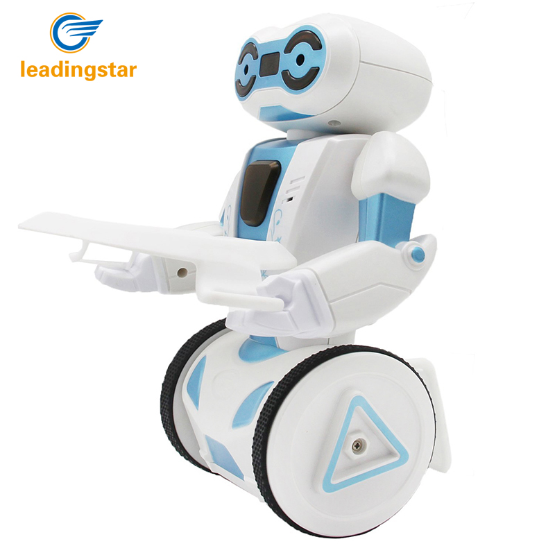 LeadingStar Remote Control Smart robot Balancing Stunt Robot Toy Gift RC Gesture Dancing Loading Boxing Children's toys  zk30