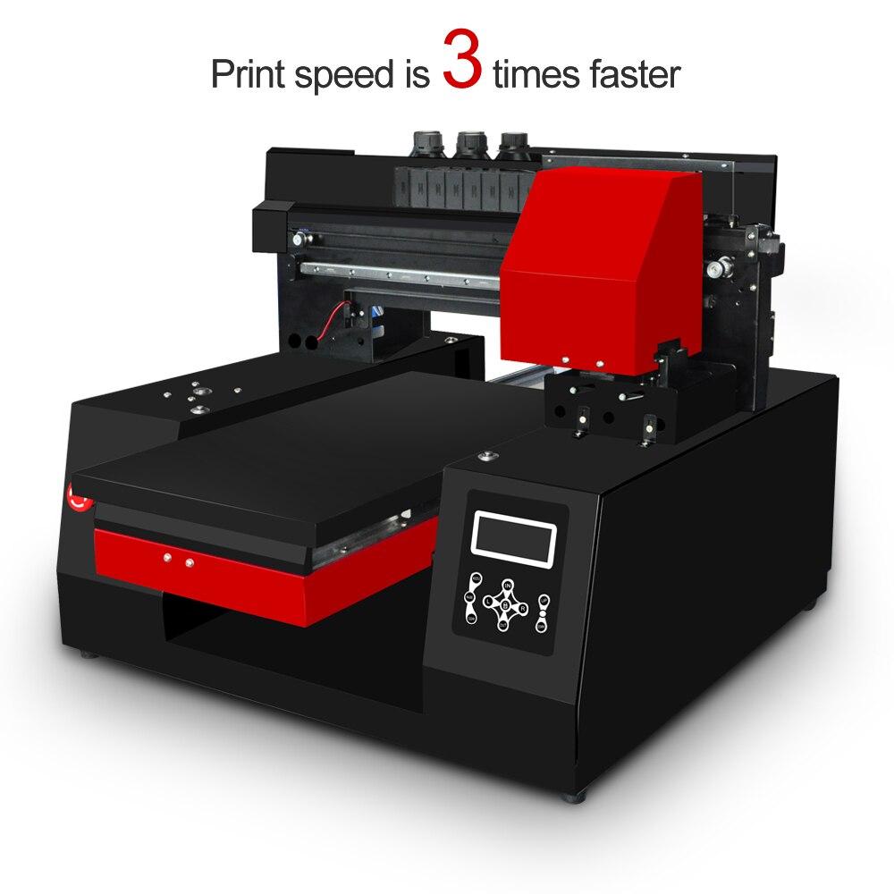 Nouvelle imprimante UV à vitesse rapide 3060 avec tête d'impression unique pour tête d'impression Epson DX9 pour coque de téléphone/cuir/TPU/ABS/carte/Borad etc.