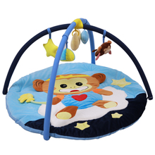 Baby Playpens Game Fence Crawl Guardrail Safe Hurdles Children Real Soft Cute Monkey baby playpen game baby toys 0 12 months стоимость
