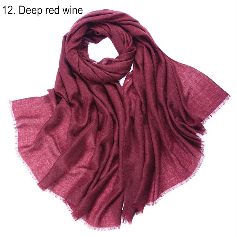 12. Deep red wine