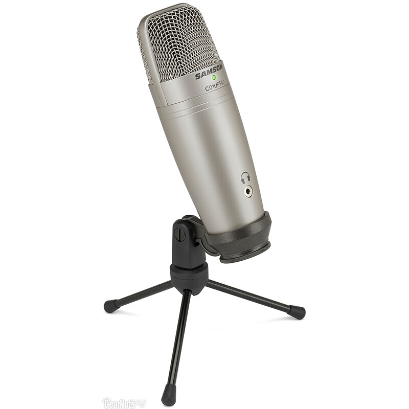 Original SAMSON C01U Pro (+ Samson Wind sponge) USB Condenser microphone for studio recording music ,YouTube videos-in Microphones from Consumer Electronics    3