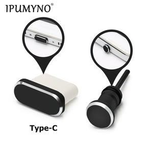 IPUMYNO Anti-Dust-Plug Earphone Jack Phone-Charging-Port Type-C Huawei P9 Samsung