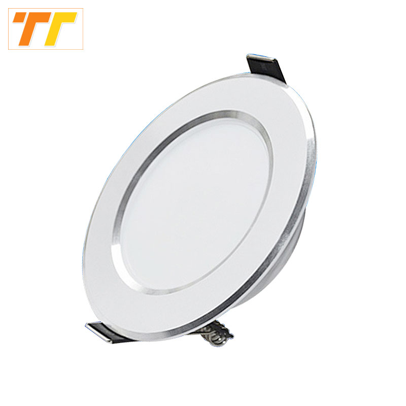 4 unids / lote LED downlight luces de alta calidad 3W / 5W / 7W / 9W / 12W / 15W LED luz interior lámpara AC230V lámpara de la lámpara del bulbo llevó luces
