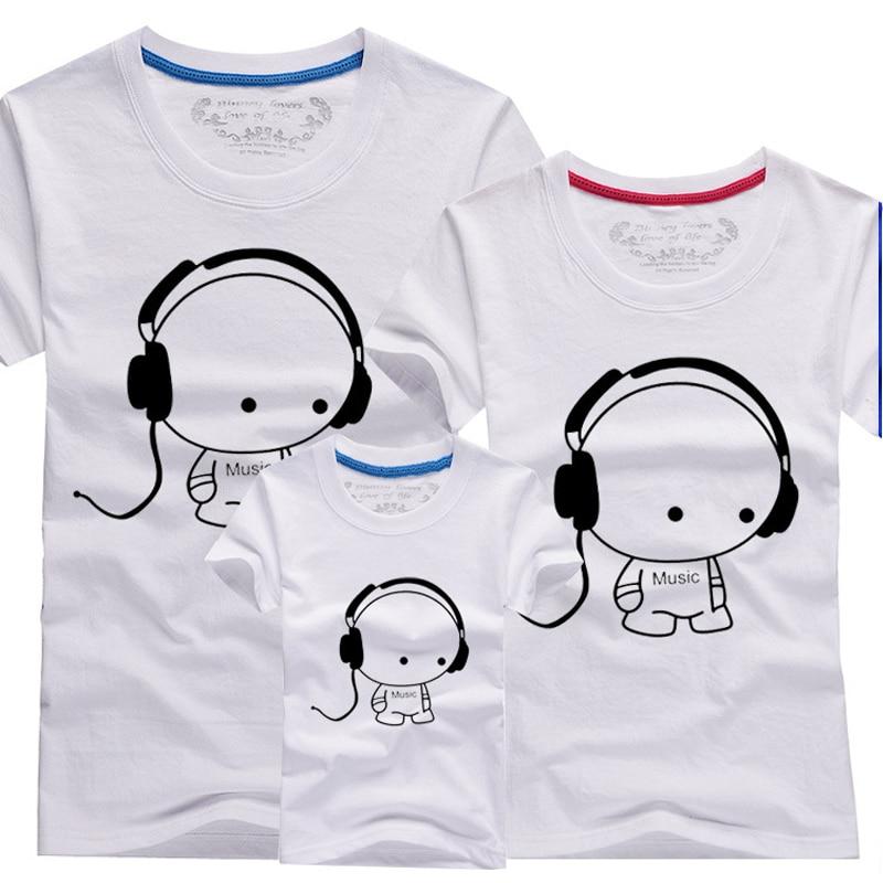 Compra juego de la familia camisetas online al por mayor