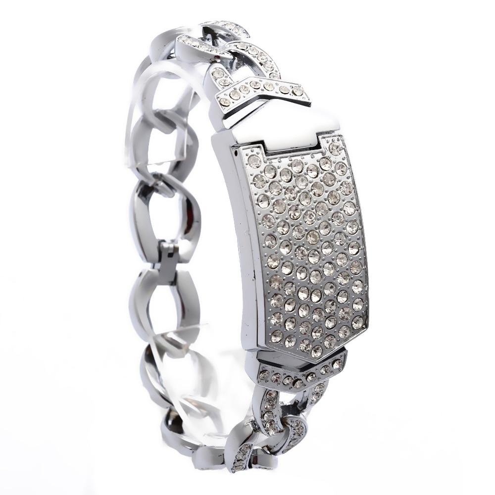 G & D Luksus Brand Kvinners Armbåndsure Guld Rhinestone Smykker - Dameure - Foto 5
