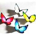 butterfly from empty hands Magic tricks  butterfly Colorful butterfly Magic change  20pcs/lot mentalismo