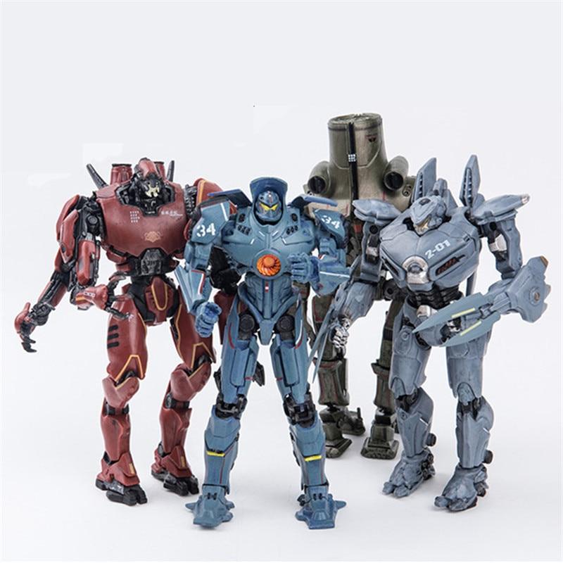 NECA Pacific Rim Jaeger Mech Striker Eureka Robot Action Figure Collector Toys