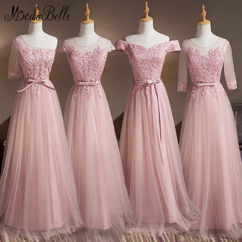 7b6043cb0ec7c Detail Feedback Questions about modabelle 4 Styles Dusty Pink Long ...