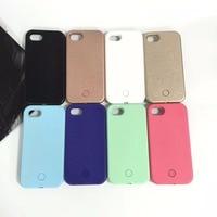 DuaGaiRen 1st Generation Selfie Luminous Case For IPhone X 8 7 6 6s Plus 5 5S