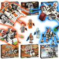 Bela 2016 arc-170 starfighter droide buitre snowspeeder at-at republic gunship star wars luchador espacio compatible con lego