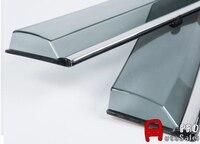 Translucent Quality Window Visor Vent Shade Rain Sun Wind Guard Covers 4pcs For Audi Q5