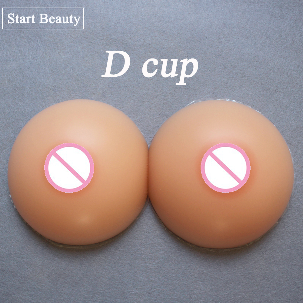 1000g/pair D cup Round Shape Silicone Breast Forms Boob Realistic Transvestite Crossdress Tresvestite Silicone Breast Prosthesis 2000g silicone breast forms false breasts mastectomy boob prosthesis transvestite crossdress bra artificial breast skin color