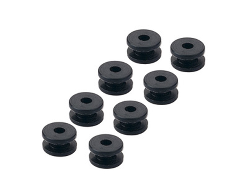 20PCS Lot F4 Flight Control Rubber Damping Ball Anti Vibration Damping Pad Shock Absorber Ball Elastic