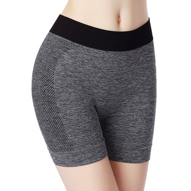 Women Sport Yoga Safety Short Tights Hot Elastic Running And Gym Underwear  New Active Crossfit Fitness Workout Pilates Shorts 389f39519f