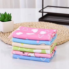 Square 26cm Microfiber Candy Color Kindergarten Childrens Soft Washing Cleansing Quick-drying Towel Handkerchief Gift