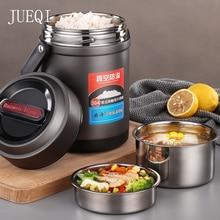 Ланч-бокс из нержавеющей стали для детей Bento box с подогревом термос для еды Ланчбокс с подогревом контейнер для еды кухня приготовление еды