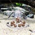 Aquarium Fisch Pflanzen Tank Kunststoff Klar Schnecke Trap Catcher Pflanzen Planarian Pest Fangen Box Leech Umwelt Sauber Werkzeug Neue-in Reinigung von Werkzeugen aus Heim und Garten bei