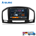 A-Sure 8'' WIFI 3G USB Car GPS Sat Nav Navigation CD DVD Player Radio GPS for Vauxhall Opel Insignia