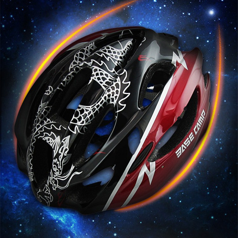 2017 New Bicycle Cycling Helmet Ultralight Bike Helmet In-mold MTB Casco Ciclismo Road Mountain Helmet 54-62cm Black universal bike bicycle motorcycle helmet mount accessories