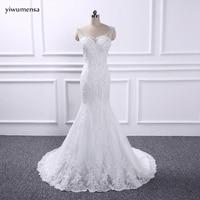 Yiwumensa Vestidos De Novia See Through Mermaid Wedding Dresses 2017 Vestidos De Novia Wedding Dress Robe