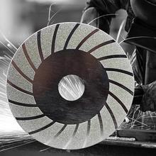 Tekerlek taşlama diski elektrolize elmas testere bıçağı kesme açı öğütücü döner aracı