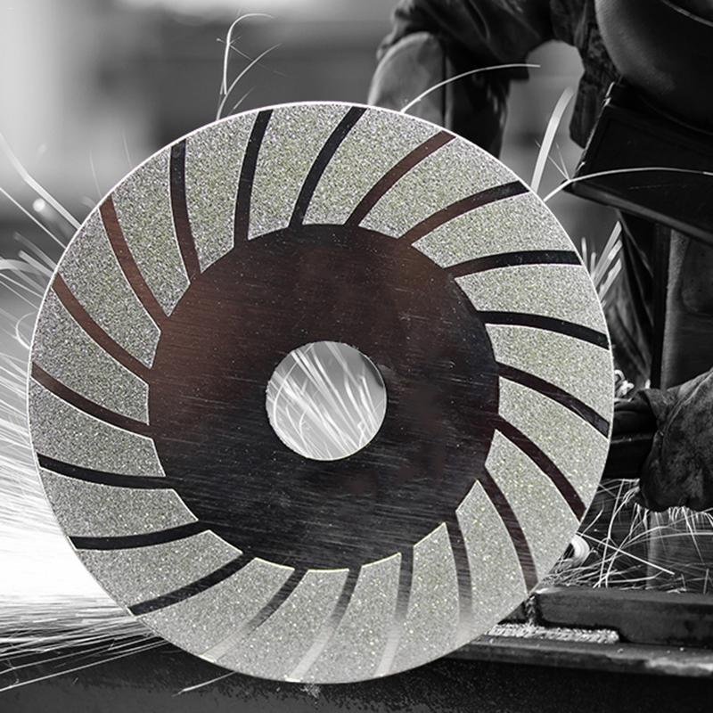 Wheel Grinding Disc Electroplated Diamond Saw Blade Cutting For Angle Grinder Rotary Tool