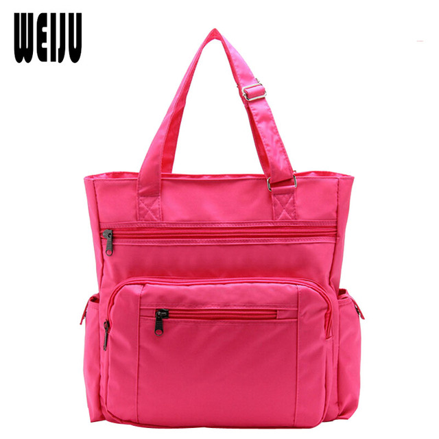 2017 Newest Women Travel Bags Large Capacity Travel Duffle Bag Nylon Waterproof Casual Luggage Bag Candy Color YA0275