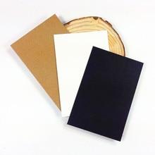 120 개/몫 빈티지 빈 카드 StudentsDIY 다기능 참고 메시지 카드 선물 엽서 스케치 단어 카드