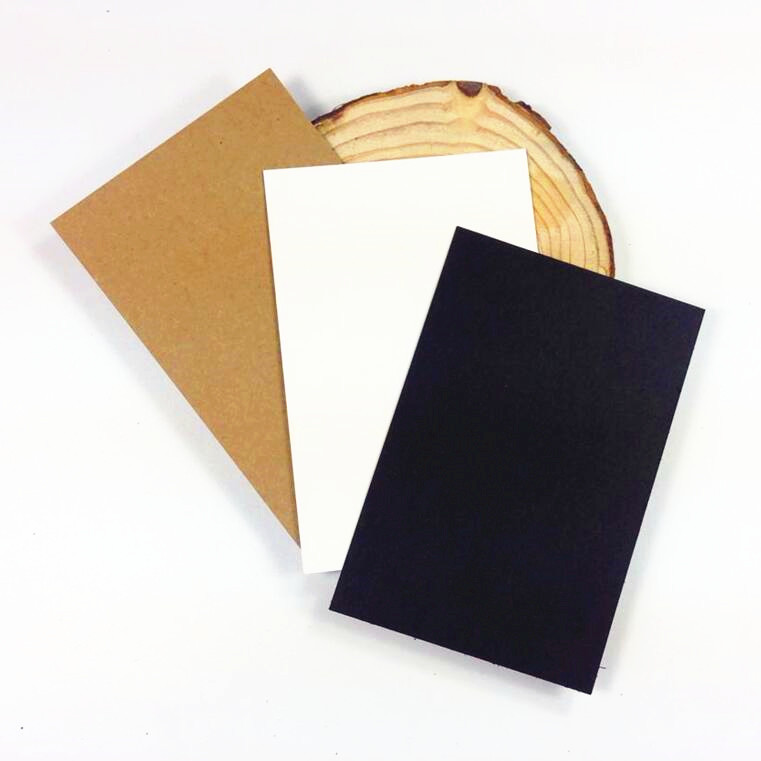 120pcs/lot Vintage Blank Card Students'DIY Multi-function Note Message Card Gift Postcards Word Card For Sketch