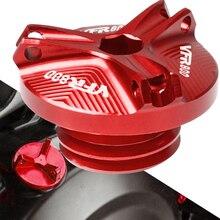 Для Honda VFR800 алюминиевый мотодвигатель мотоцикла масляный колпачок для Honda VFR800 VFR 800 VFR-800 2002
