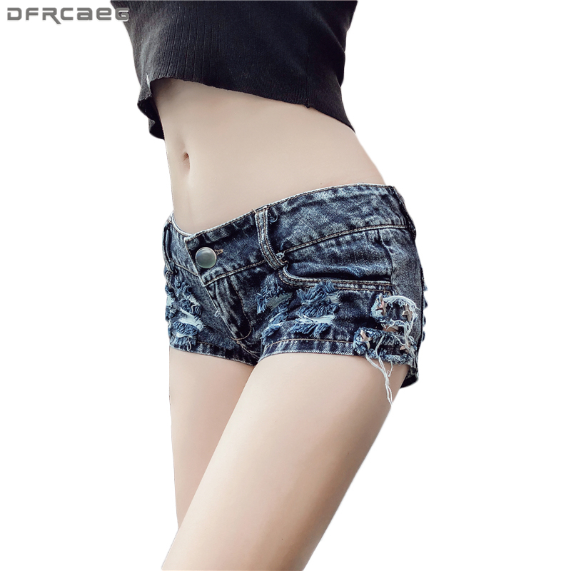 2020 Summer Dark Blue Ripped <font><b>Shorts</b></font> Jeans Feminino Hollow Out Holes Tassel <font><b>Sexy</b></font> Denim <font><b>Short</b></font> <font><b>Women</b></font> Ladies Dance <font><b>Mini</b></font> Booty <font><b>Shorts</b></font> image