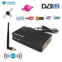 Full HD DVB S2 TV Receiver HDMI DVB S/S2 MPEG 2/4 H.264 WIFI Digital Signal Video Broadcasting Satellite TV Receiver Box Set V8