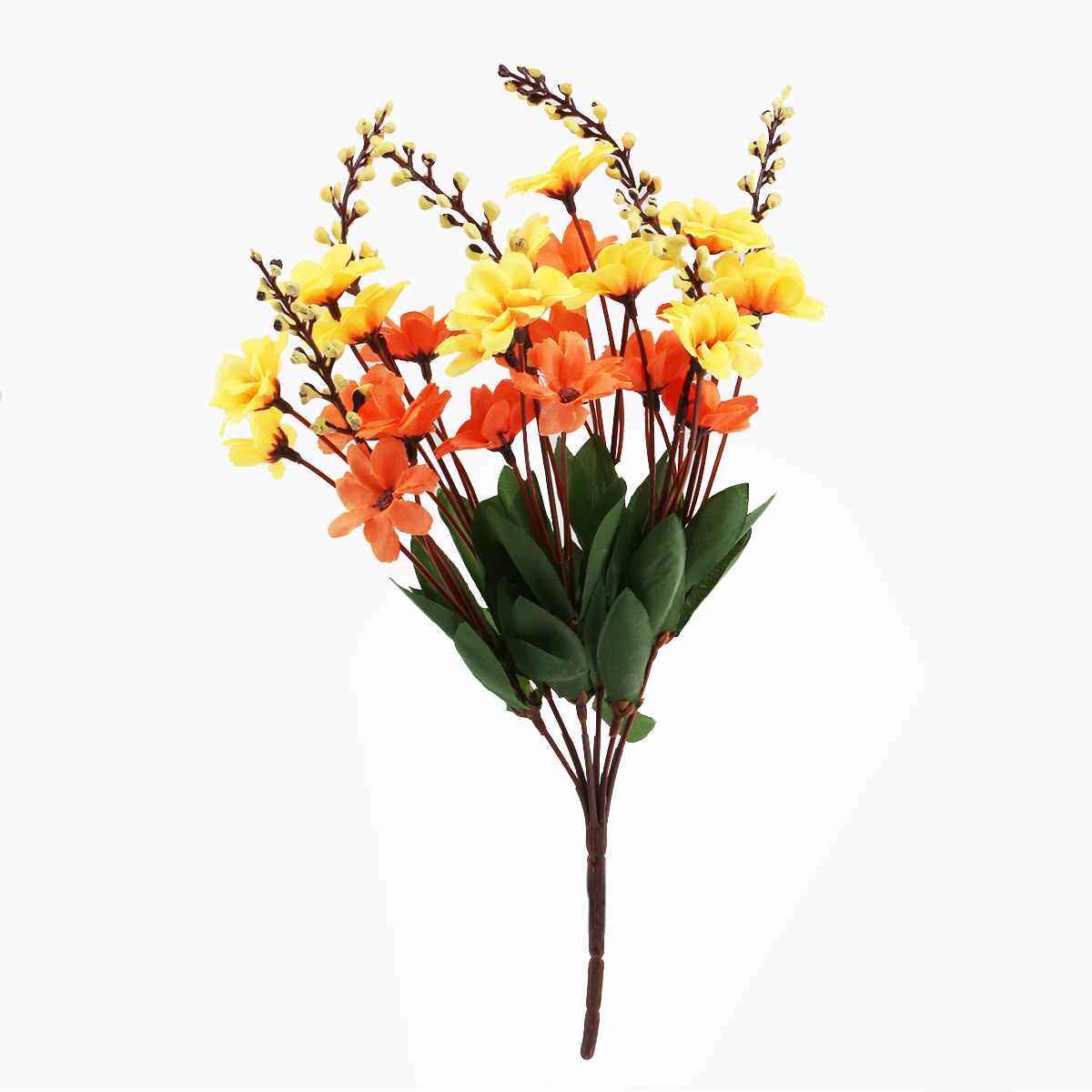 Online buy wholesale artificial daisy flower from china artificial 2017new 2 colors bunch of artificial daisy flower bouquet real like for office home dhlflorist Gallery