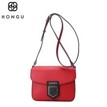 Luxury Messenger Bags Women Handbag Shoulder Bags Cow Leather Crossbody Bags Female Makeup Clutch Bags Multicolor Designer HONGU