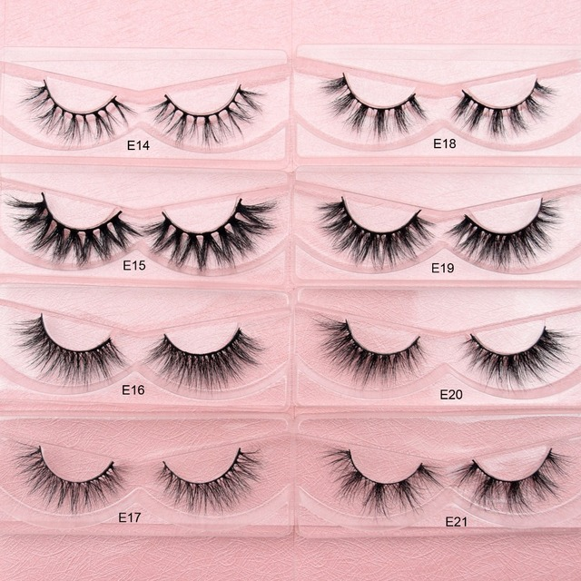 3D Mink Eyelashes Cruelty free Lashes  Natural Eyelashes False Lashes  4