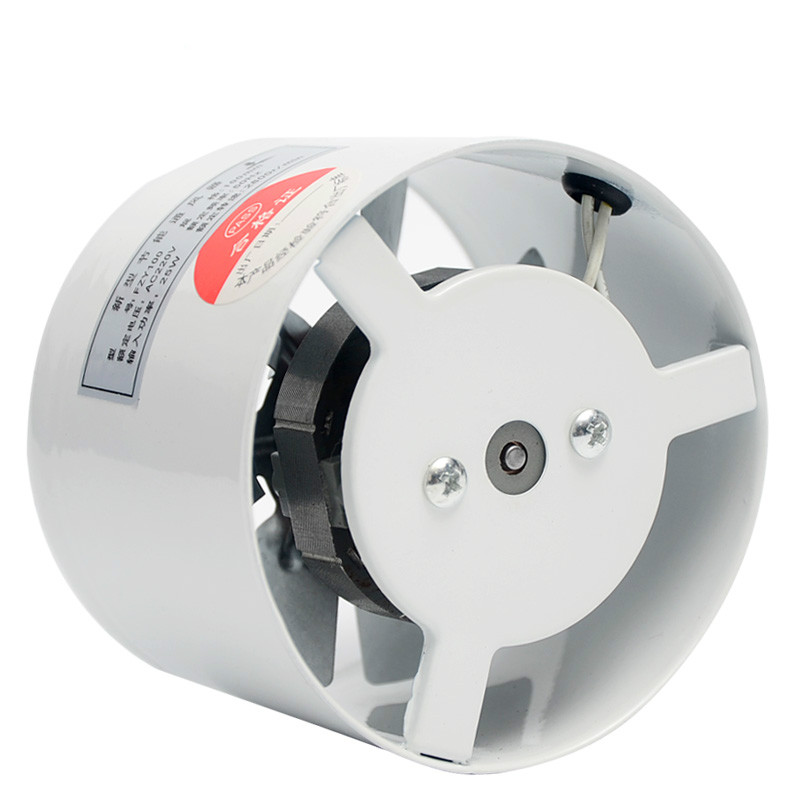 ABKM Hot 4 Inch Window Exhaust Fan Kitchen  Bathroom Toilets Ventilation 2800R/Min 220V 25W White Color For Home Pipeline Fan M