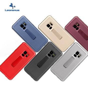 Funda dura resistente para teléfono funda para Samsung Galaxy S9 S8 Plus S7 Edge soporte magnético para coche funda para Samsung Note 8