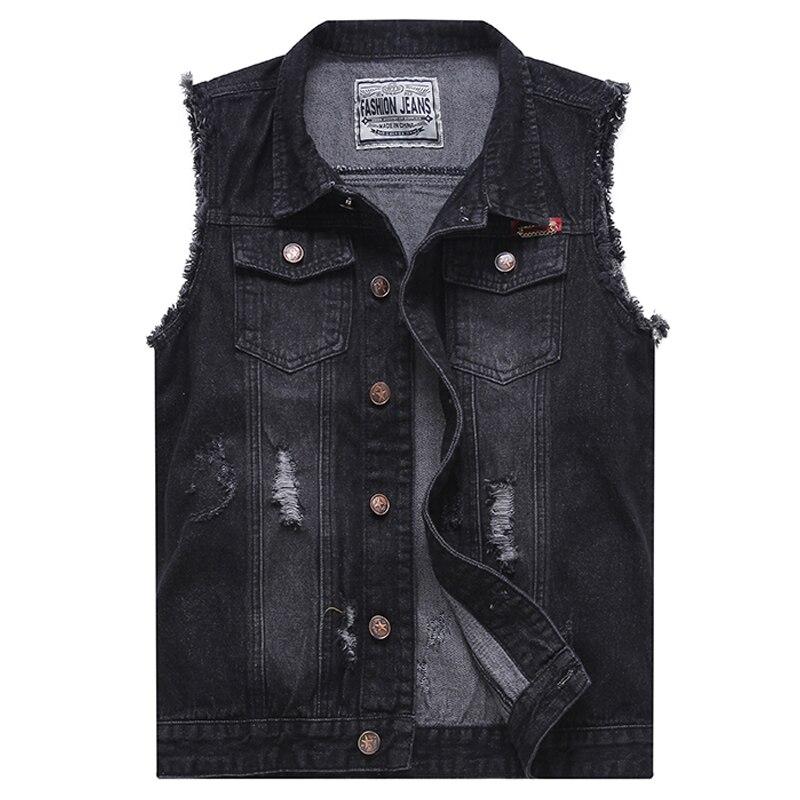 Popular Black Jean Vest for Men-Buy Cheap Black Jean Vest for Men ...