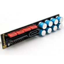 Elfidelity PC 필터링 카드 SATA 전원 필터 purify PC HiFi 하드 디스크