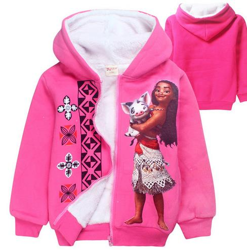Children Outerwear Winter Jackets Coats Winter Coat Girl Double Coral Velvet Kids Girls Warm Coat Clothing Sport Jackets
