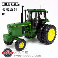 KNL HOBBY J Deere 4450 farm tractor alloy car models US ERTL 1:16 Gold Gifts