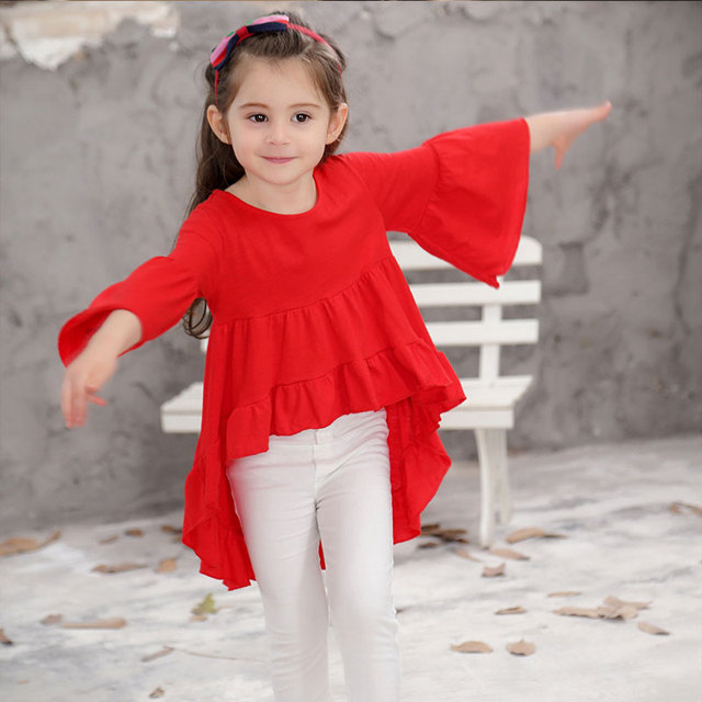 Kids Dresses for Girls Elegant Princess Tide Baby Cotton Girl Christmas Dress Wedding Party Children Wear Clothes LYQ-CZX42