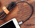2016 New hot sale Cowboy Leather Charging Charger Data Sync USB Cable for iPhone 5/5s/5c/6/6S/6 Plus/6S Plus Android phone 1M